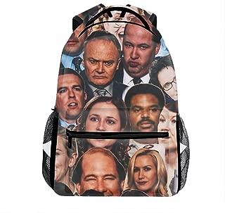 Lightweight Dwight Schrute Office Backpacks Girls School Bags Kids Bookbags