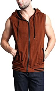 Victorious G-Style USA Lightweight Sleeveless Contrast Hoodie