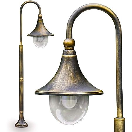Lampadaire Elgin 120 cm couleur bronze