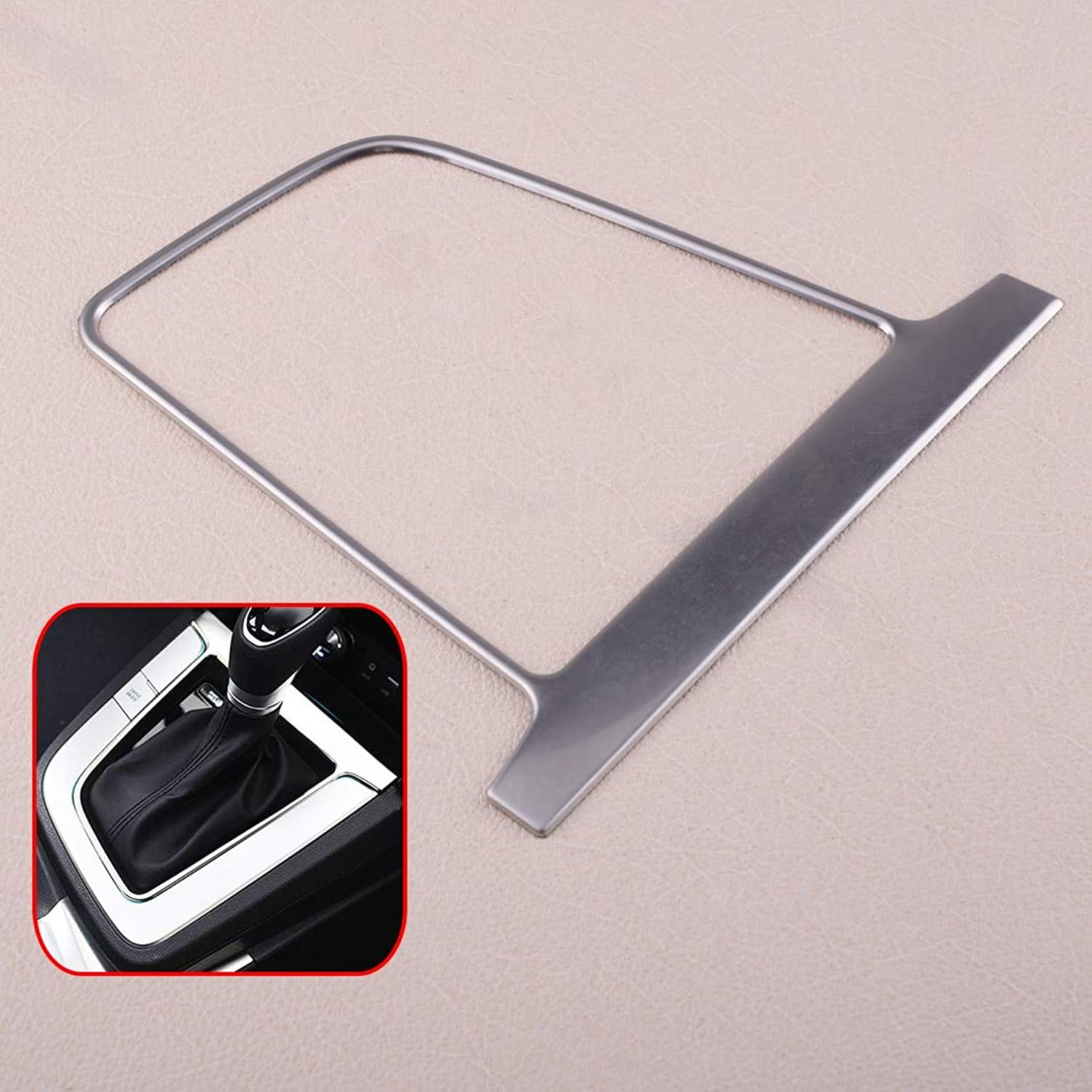 CalapStore  New ABS Chrome Car Interior Gear Shift Panel Cover Trim Frame Fit for Hyundai Elantra AD