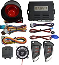 $47 » Sponsored Ad - BANVIE Car Alarm System with Remote Engine Start and Push to Start Stop Iginition Button Kit