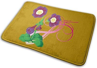 Rattan Flower Carpet Non-Slip Welcome Front Doormat Entryway Carpet Washable Outdoor Indoor Mat Room Rug 15.7 X 23.6 inch