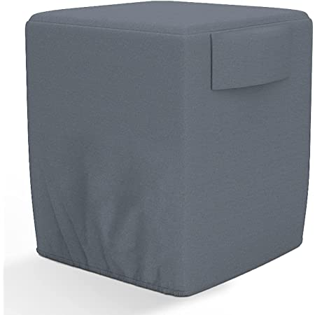 AKEfit Air Conditioner Cover for Outside, Heavy Duty Waterproof AC Defender with Durable Oxford Fabric, Veranda AC Protector -34x34x30 inches Gray