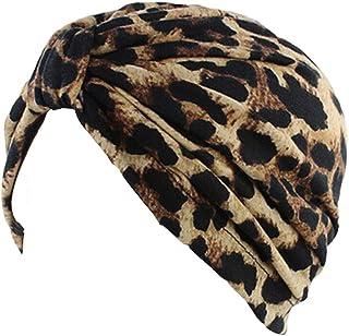 473a810a320e6f Ever Fairy Womens Floral Print Cotton Turban Chemo Sleep Cap,Turban Hat Cap  Hair Wrap