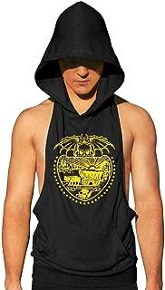 Oregon State Skull bat Men Sleeveless Hoodie Shirts Stringer Tank Tops Workout
