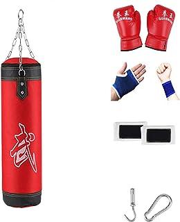 PPLAS Sac de Sable Professionnel Sac de poinçonnage Entraînement Fitness avec accrocher Kick Boxing Adultes Salle de Sport...