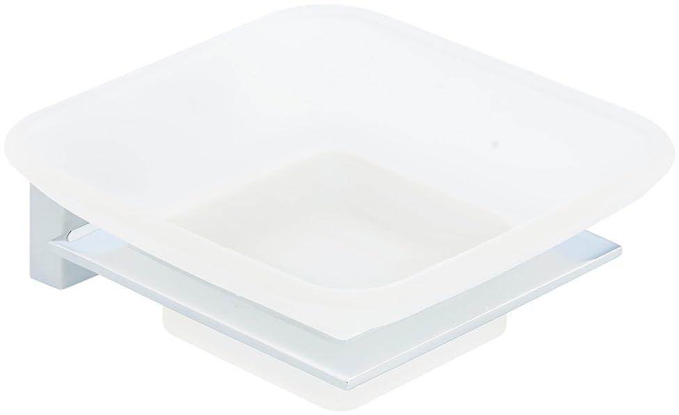 AmazonBasics Euro Soap Tray - Polished Chrome