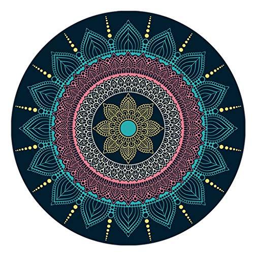Byx- Tapijt - Slaapkamer Woonkamer Slaapkamer Bedrukbaar Tapijt Mand garderobe Antislip Circulaire Vloer Mat -gebied tapijten
