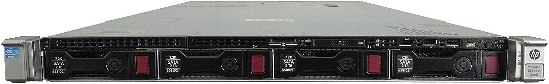 High-End HP ProLiant Max 46% OFF DL360p G8 Inexpensive 4 Rackmount Server Bay 1U LFF 2X