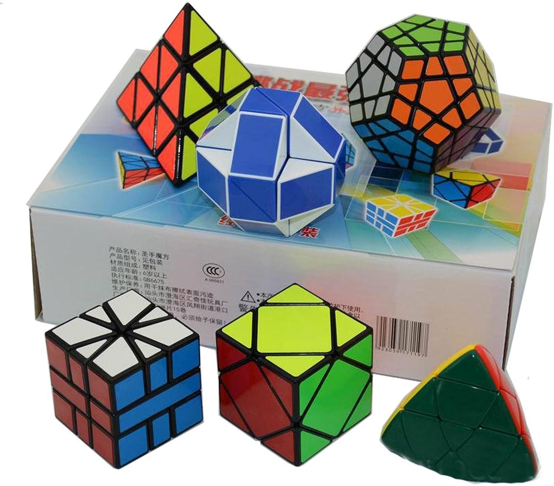 Qm-h Shengshou Set 6- pack special shape cubes magic cubes puzzle