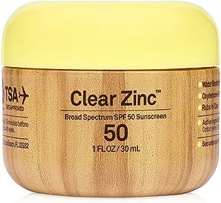 Sun Bum Original Broad Spectrum SPF 50 Clear Zinc Oxide Sunscreen Lotion   1 FL OZ / 30 mL