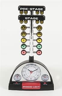 NHRA Racing Alarm Clock with Christmas Tree