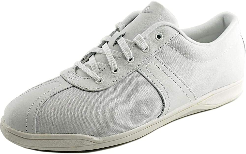 Easy Spirit Oncue Women Round Toe Canvas White Sneakers