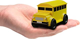 Bus Magic Vehicles Inductive Truck [Follows Black Line] Magic Toy Car for Kids & Children - Best Toddler Toys Mini Magic Pen Inductive Fangle Kids School Follow - Yellow