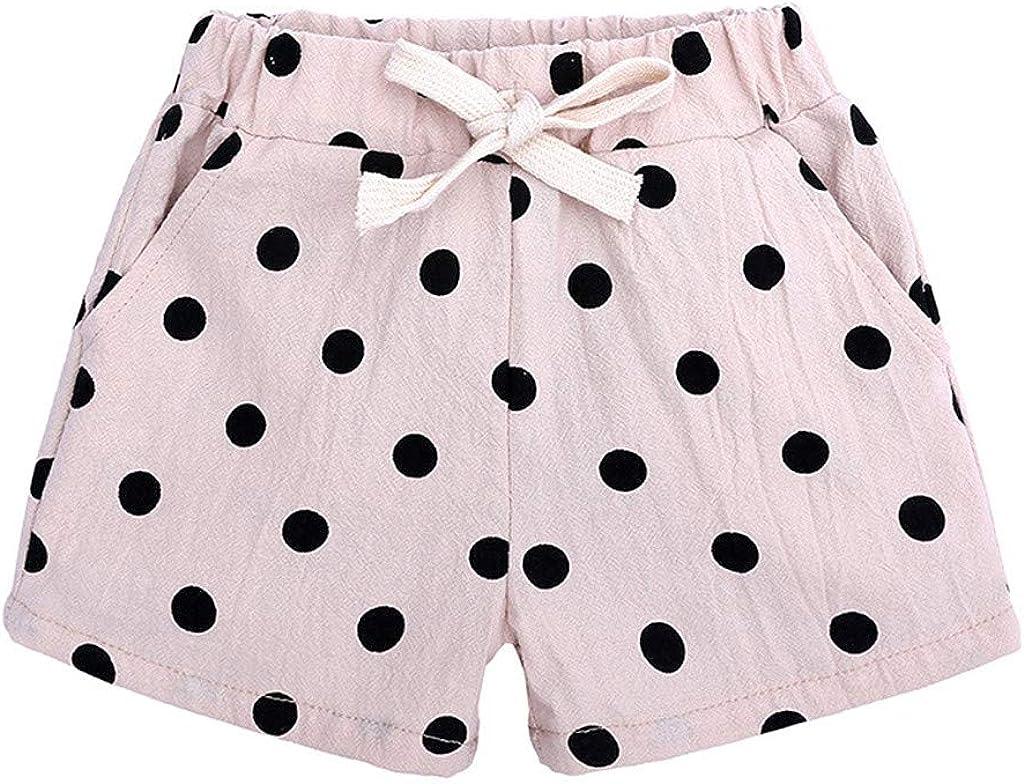 Baby Toddler Girls Boys Summer Polka Bowknot 1-5 Shorts for Dot Free shipping on posting Ranking TOP3 reviews