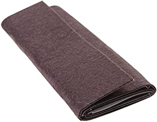 "Self-Stick Furniture Felt Sheet for Hard Surfaces to Cut into Any Shape (1 piece) - Walnut Brown, 6"" x 18"" Sheet"