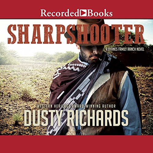 Sharpshooter audiobook cover art