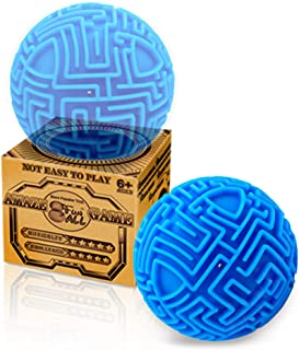 Maze 3D Puzzles Brain Teasers Ball for Adults Kids,Hard Challenges Gravity Memory Sequential Puzzles