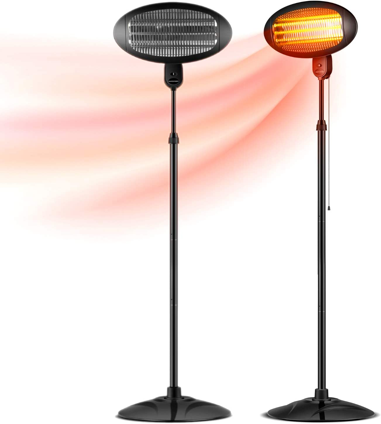 Patio Heater Indoor - Outdoor Electric Carbon Max 81% Outlet ☆ Free Shipping OFF Inf 1500W