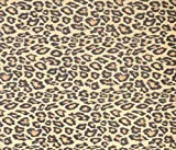Fablon FAB12134 Leopard Adhesive Film, Yellow