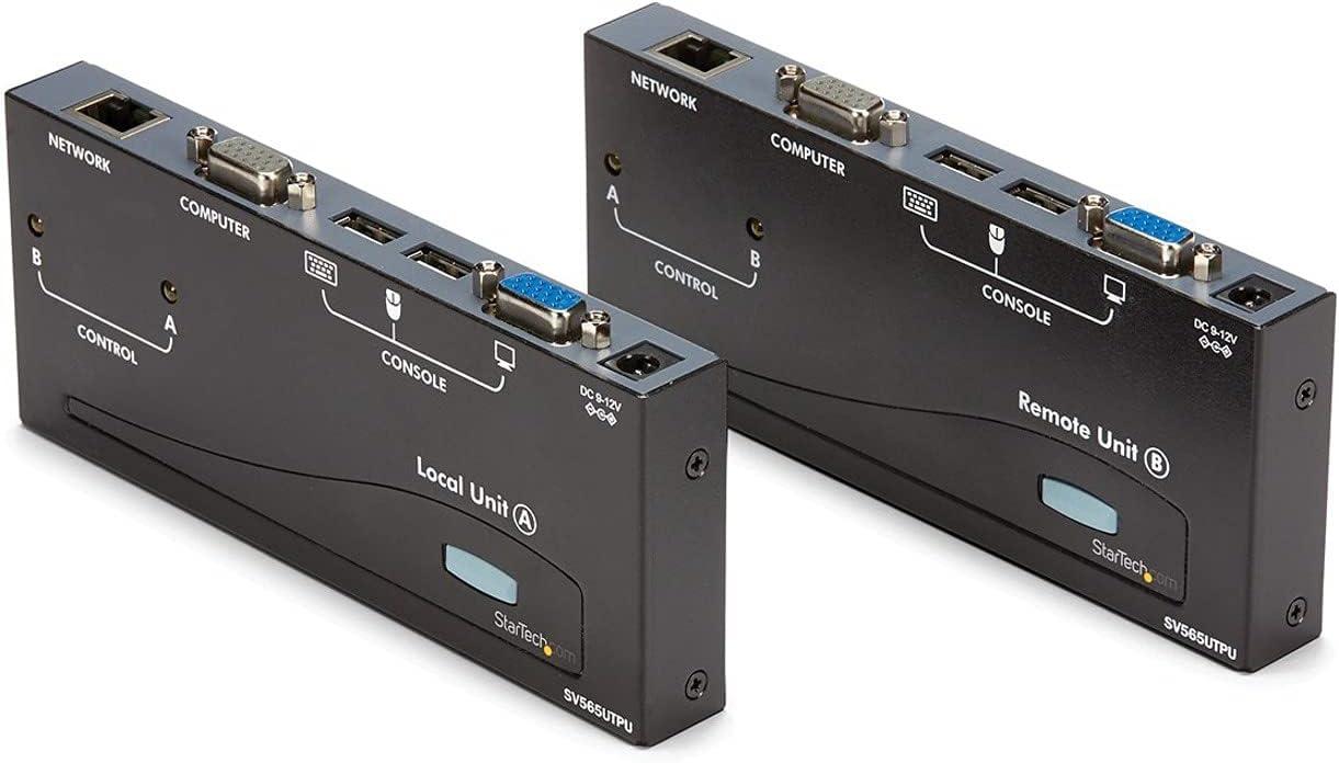 StarTech.com 500ft VGA KVM NEW before selling Over IP Detroit Mall Extender 2 Host - PS USB