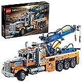 LEGO 42128 Technic Camión Remolcador de Gran Tonelaje, Juguete de Construcción de la Serie Ingeniería para Niños