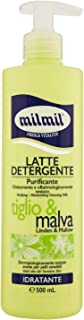 latte detergente viso