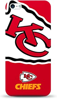 Mizco Sports Iphone 5S / SE NFL Oversized Snapback TPU Case Kansas City Chiefs