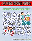 Exploring The Space Nature: 35 Funny Flask, Monster, Meteorite, Venus, Comet, Planetearth, Telescope, Galaxy For Boys Ages 4-8 Image Quizzes Words Activity Coloring Book