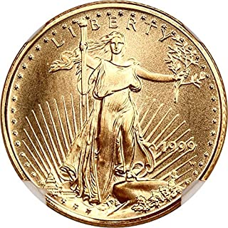 1999 W $5 Gold Eagles Gold Eagle Five Dollar MS70 NGC