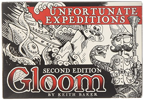Atlas Games ATG01354 - Gloom - Unfortunate Expeditions, 2nd Edition, Kartenspiel
