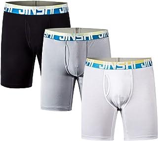 con parte anteriore a Y in cotone di alta qualit/à confezione da 4 pezzi GK multicolore Boxer da uomo