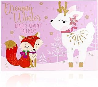 Kalendarz adwentowy Dream Winter z 24 wkładkami, 43 x 4 x 31 cm.