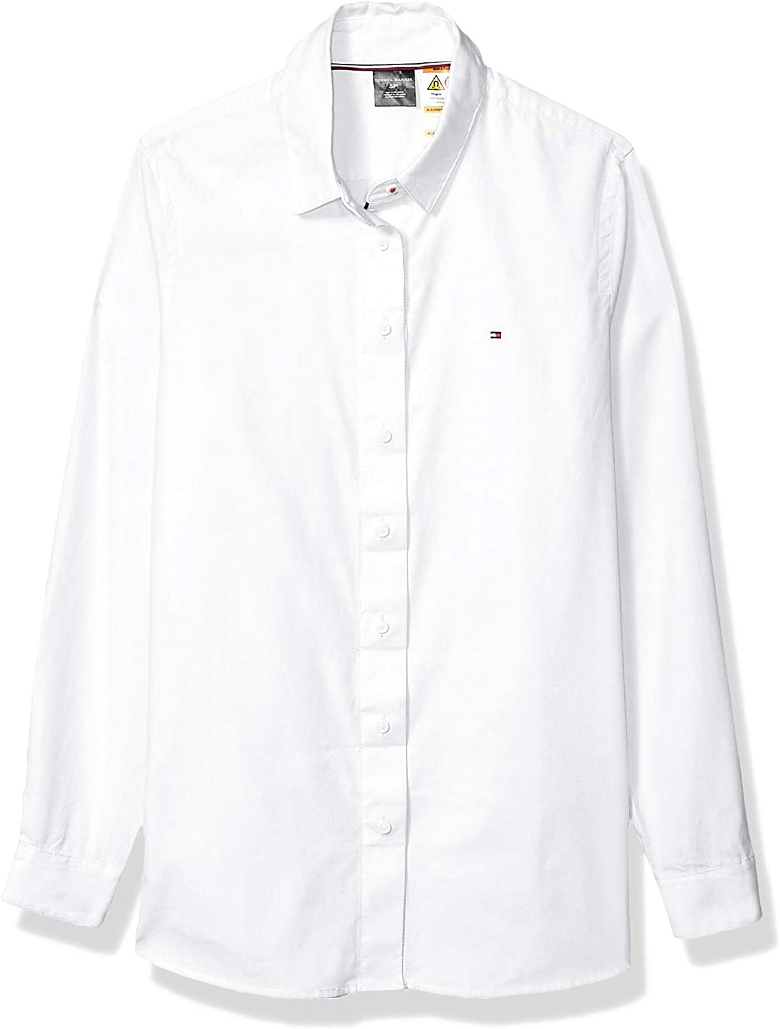 Tommy Hilfiger Women's Adaptive Shirt with Magnetic Buttons