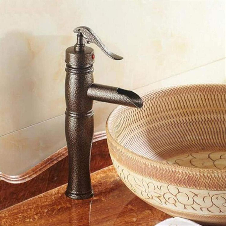 Faucet Luxury Plated Modern Faucet Faucet Mixer Luxury High Quality Brass Material Design Bronze Bathroom Sink Mixer Basin Faucet