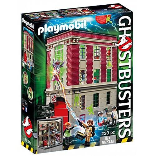 Playmobil - Cuartel parque de bomberos Ghostbusters (9219)