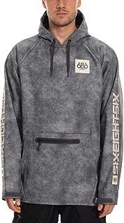 686 Men's Pullover Waterproof Hoody – Softshell Fleece Lined Fabric