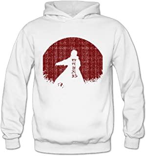 Vintage Red Moon Naruto Classic Women's Hooded Sweatshirts