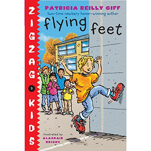 Flying Feet audiobook cover art