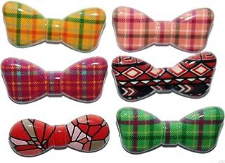 Creativegifts Printed Multi Colored Hijab Sari Pins, Plastic, psb-63a, 1.5 inches
