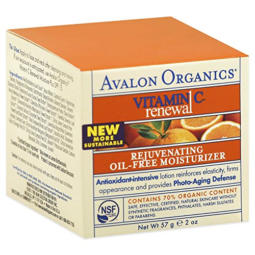 Avalon Organics: Vitamin C Rejuvenating Oil-Free Moisturizer, 2 oz