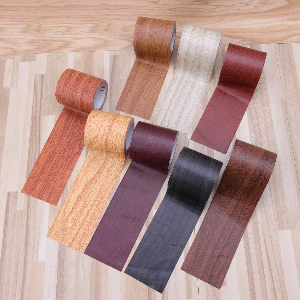 Cinta adhesiva para reparaci/ón con aspecto de madera Yinuneronsty 5 m