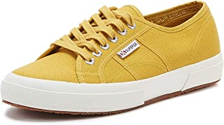 Superga 2750 Cotu Classic Womens Yellow Senape Trainers