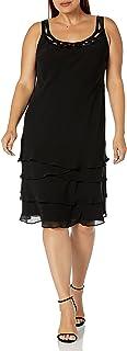 فستان متعدد الطبقات للنساء بمقاس كبير من S.L. Fashions