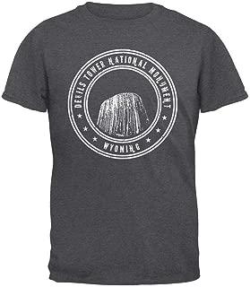 Devils Tower National Monument Mens T Shirt