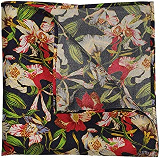 The Floral Infusion Silk Pocket Square