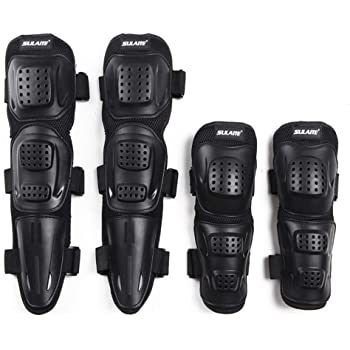 Elbow Knee Pads BSDDP BSD1002 4pcs Elbow /& Knee Pads Guard Protector Protective Gear for Biking Riding Cycling Motocross Motorcycle