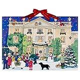 Grand calendrier traditionnel de l'avent Alison Gardiner «Maison Highgrove pendant Noël» - Format A3