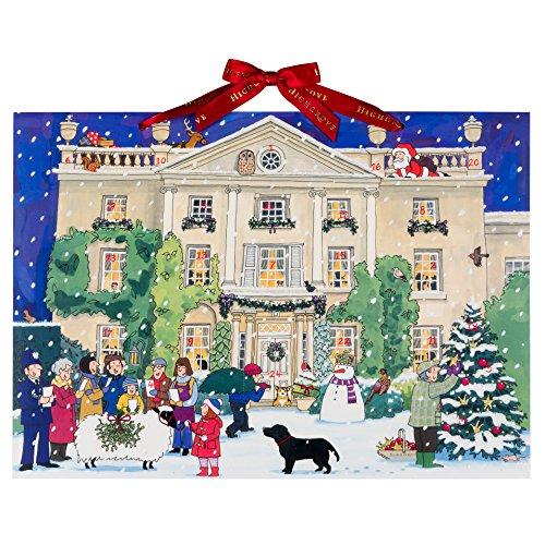 Alison Gardiner Adventskalender Highgrove House at Christmas Großes A3