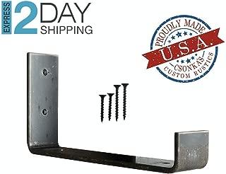 Custom Hook Shelf Bracket Ordering, J Bracket, Metal Shelf Bracket, Industrial Shelf Bracket, Modern Shelf Bracket.